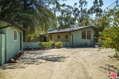 Calabasas Single Family Home For Sale: 24890 Bob Batchelor Road
