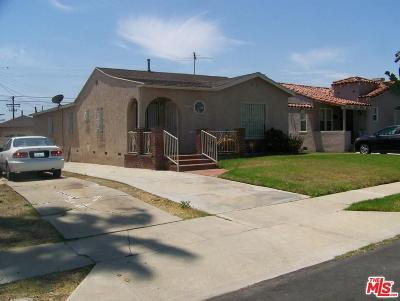 Los Angeles Single Family Home For Sale: 4014 West 59th Place