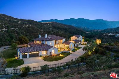 Calabasas Single Family Home For Sale: 2710 Country Ridge Road