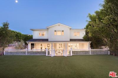 Pacific Palisades Single Family Home For Sale: 15405 Bestor