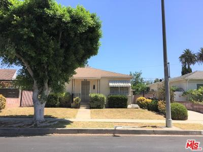 Los Angeles Single Family Home For Sale: 3046 South Beverly Drive