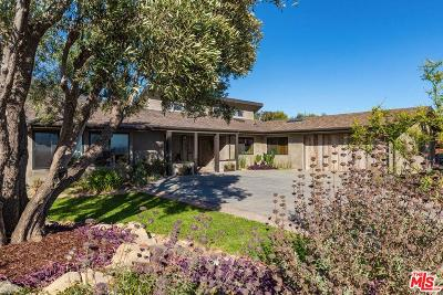 Single Family Home For Sale: 6364 Trancas Canyon Road
