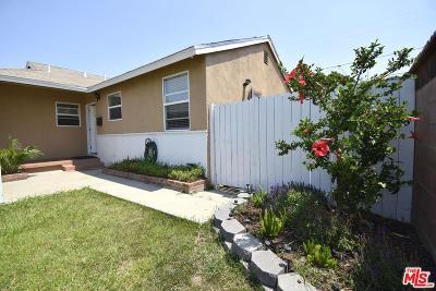 Compton Single Family Home For Sale: 15616 South Tarrant Avenue