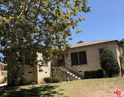 Los Angeles County Single Family Home For Sale: 5729 West 76th Street