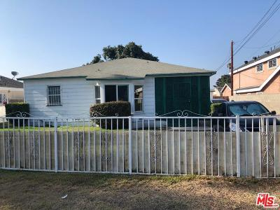 Compton Single Family Home For Sale: 715 West Tichenor Street