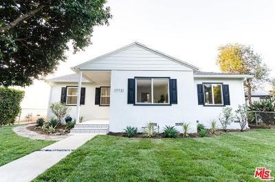 Encino Single Family Home For Sale: 17731 Burbank Boulevard