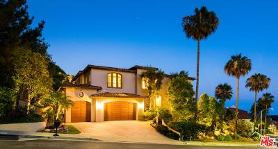 Pacific Palisades Single Family Home For Sale: 1779 East Chastain Parkway