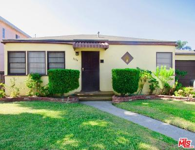 Inglewood Single Family Home For Sale: 3534 West 117th Street