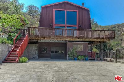 Topanga Single Family Home For Sale: 1333 Old Topanga Canyon Road