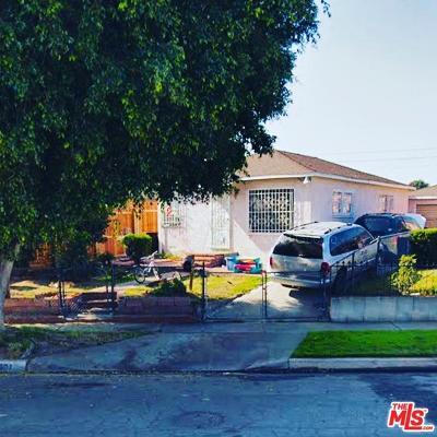 Compton Single Family Home For Sale: 1801 North Slater Avenue
