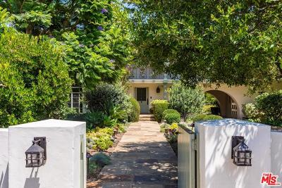 Pacific Palisades Single Family Home For Sale: 1344 Monaco Drive