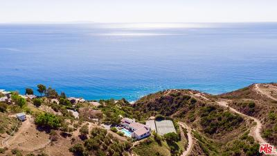 Malibu Single Family Home For Sale: 20755 Seaboard Road