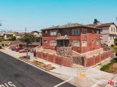 Inglewood Residential Income For Sale: 8265 Crenshaw Drive