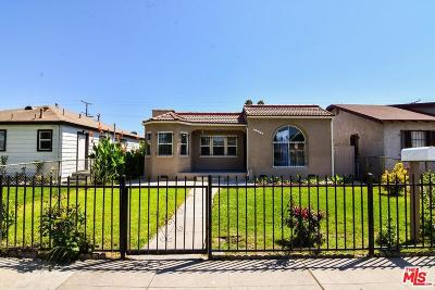 Los Angeles Single Family Home For Sale: 1242 East 89th Street