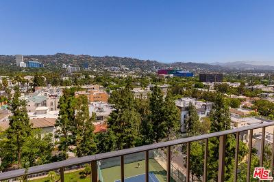 Los Angeles Condo/Townhouse For Sale: 100 South Doheny Drive #1015