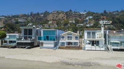 Malibu Single Family Home For Sale: 21550 Pacific Coast Highway