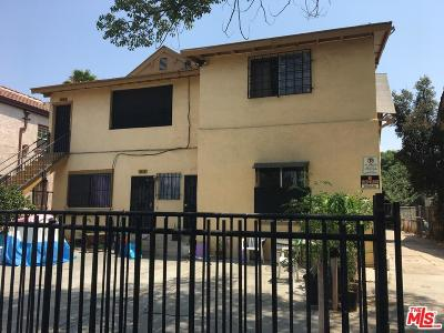 Los Angeles Single Family Home For Sale: 4618 South Figueroa Street