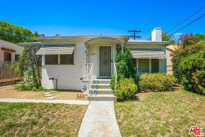 Los Angeles Single Family Home For Sale: 4517 Verdugo Road