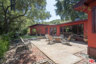 Topanga Single Family Home For Sale: 1363 Old Topanga Canyon Road