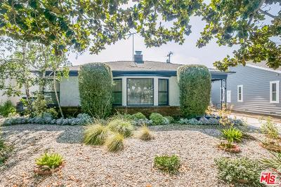 Culver City Single Family Home For Sale: 10966 Fairbanks Way