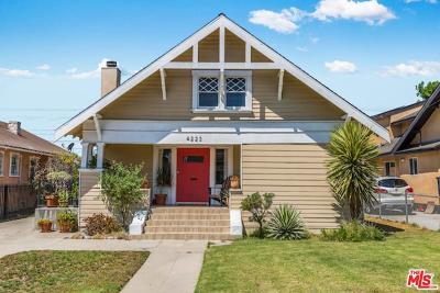 Los Angeles Single Family Home For Sale: 4223 Dalton Avenue