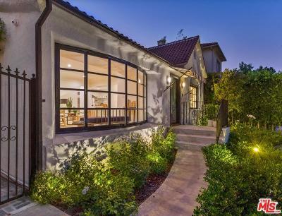 Hancock Park-Wilshire (C18) Single Family Home For Sale: 607 North Las Palmas Avenue