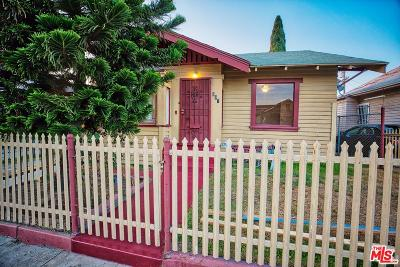Los Angeles Single Family Home For Sale: 897 East 53rd Street