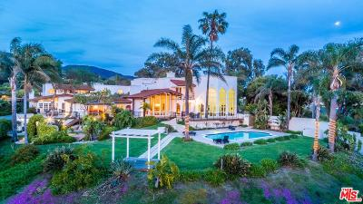 Malibu Single Family Home For Sale: 30333 Morning View Drive