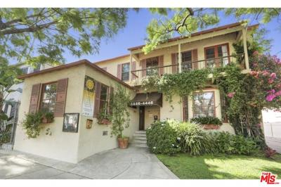 Los Angeles County Residential Income For Sale: 4446 Ambrose Avenue
