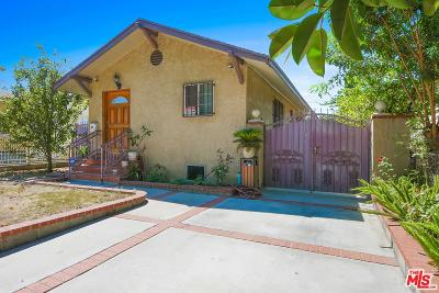 Los Angeles Single Family Home For Sale: 1118 West 71st Street
