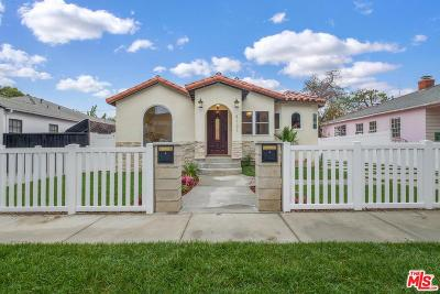 Culver City Single Family Home For Sale: 4131 Huntley Avenue
