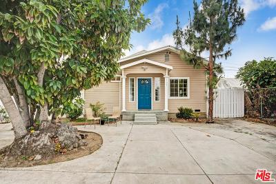Los Angeles Single Family Home For Sale: 1759 West 35th Street