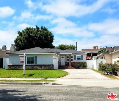 Torrance Single Family Home For Sale: 16815 Fonthill Avenue