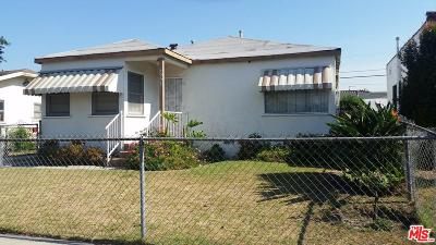 Los Angeles Single Family Home For Sale: 5557 Carlin Street