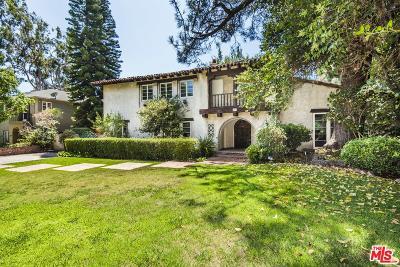 Hancock Park-Wilshire (C18) Single Family Home For Sale: 211 North Van Ness Avenue