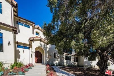 Calabasas Single Family Home For Sale: 2563 Stokes Canyon Road
