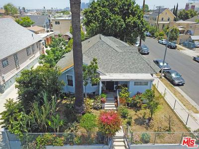 Los Angeles Single Family Home For Sale: 1156 South Hobart