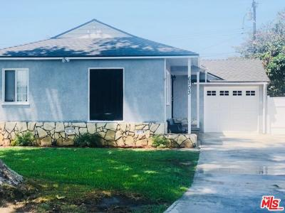 Los Angeles County Single Family Home For Sale: 6703 Bollenbacher Drive