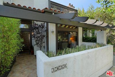 Pacific Palisades Condo/Townhouse For Sale: 1630 Michael Lane