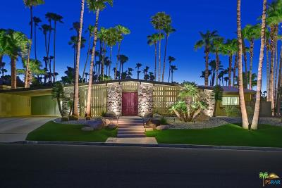 Palm Springs Single Family Home For Sale: 1210 Los Robles Drive