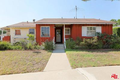 Culver City Single Family Home For Sale: 11205 Woolford Street