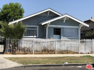 Los Angeles Single Family Home For Sale: 2029 West 41st Place