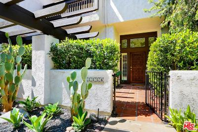 Pacific Palisades Condo/Townhouse For Sale: 1556 Michael Lane