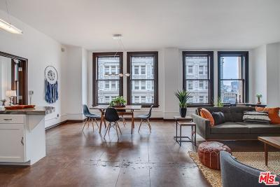 Los Angeles Condo/Townhouse For Sale: 215 West 7th Street #1006
