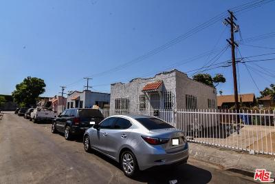 Los Angeles Single Family Home For Sale: 329 West 63rd Place