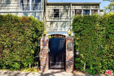 West Hollywood Rental For Rent: 1206 Havenhurst Avenue