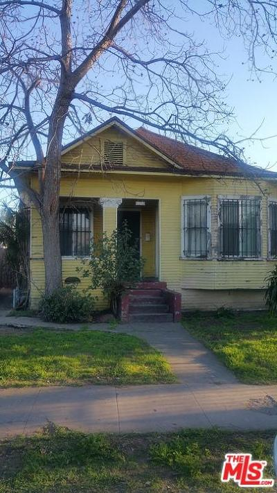 Los Angeles Single Family Home For Sale: 1150 East 32nd Street