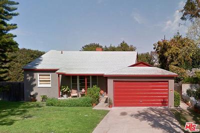 Single Family Home For Sale: 3170 Stoner Avenue