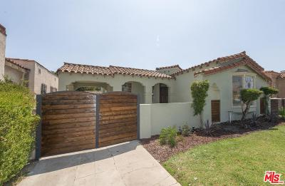Los Angeles Single Family Home For Sale: 3114 West 78th Street