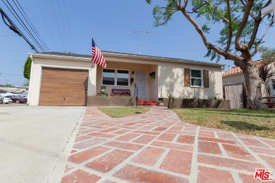 Culver City Single Family Home For Sale: 11947 Juniette Street